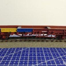 Trenes Escala: ROCO 47728 VAGÓN BORDE BAJO.. Lote 110042659