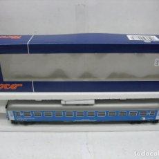 Trenes Escala: ROCO REF: 45373 - COCHE LABORATORIO TREN-TIERRA RENFE MANTENIMIENTO DE INFRAESTRUCTURA - ESCALA H0. Lote 112234771