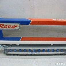 Trenes Escala: ROCO REF: 44372 - COCHE DE PASAJEROS RENFE INTERCITY - ESCALA H0. Lote 112235615
