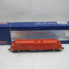 Trenes Escala: ROCO REF: 62854 - LOCOMOTORA DIESEL M61 019 CORRIENTE CONTINUA - ESCALA H0. Lote 112427991