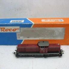 Trenes Escala: ROCO REF: 43457 - LOCOMOTORA DIESEL DE LA DB CORRIENTE CONTINUA - ESCALA H0. Lote 112428071