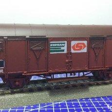 Trenes Escala: ROCO 46444 VAGÓN DE CARGA CUBIERTO SNCF. Lote 112754107