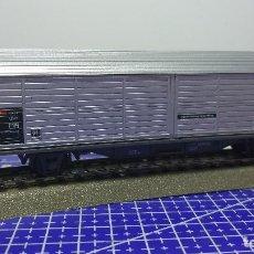 Trenes Escala: ROCO 46171 -VAGÓN DE PARED CORREDERA DE LA SBB. Lote 112818959