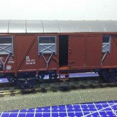Trenes Escala: ROCO 46266 VAGÓN CUBIERTO DE CARGA DB. Lote 112820699