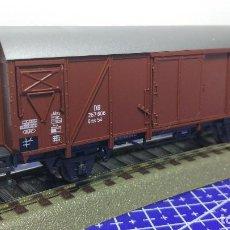 Trenes Escala: ROCO 46256 VAGÓN DE CARGA CUBIERTO DB. Lote 112823439