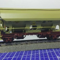 Trenes Escala: ROCO 46424 VAGÓN DE DESCARGA AUTOMÁTICA DE TECHO ARTICULADO TDS VTG NS . Lote 112824003