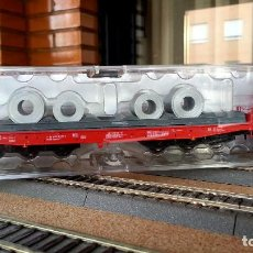 Trenes Escala: VAGÓN BOBINERO ROCO ESCALA H0. Lote 112872143