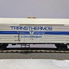 Trenes Escala: ROCO 46403 VAGÓN FRIGORÍFICO TRANSTHERMOS DE LA DB. Lote 113216207