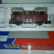 Trenes Escala: VAGON CARGA DE MADERA. Lote 114778083
