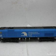Trenes Escala: ROCO - LOCOMOTORA DIESEL MANTENIMIENTO DE INFRAESTRUCTURA RENFE CORRIENTE CONTINUA - ESCALA H0. Lote 115482043