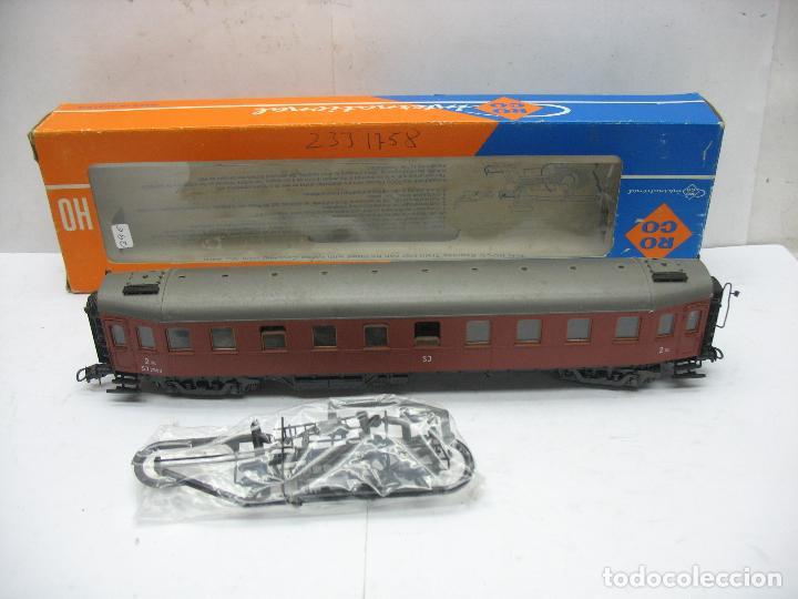 ROCO REF: 4289B - COCHE DE PASAJEROS DE LA SJ - ESCALA H0 (Juguetes - Trenes a Escala H0 - Roco H0)