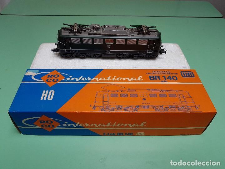LOCOMOTORA ELECTRICA BR 140 ROCO ESCALA H0 (Juguetes - Trenes a Escala H0 - Roco H0)