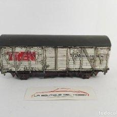 Trenes Escala: DESPIECE VAGON CERRADO HOBBY TREN ROCO 46854 ESCALA H0 DEFECTUOSO. Lote 121231571