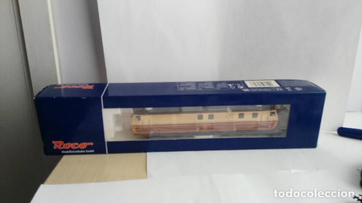 ANTIGUA LOCOMOTORA MARCA ROCO DE RENFE 62757 (Juguetes - Trenes a Escala H0 - Roco H0)