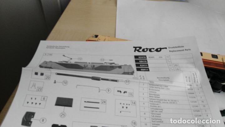 Trenes Escala: ANTIGUA LOCOMOTORA MARCA ROCO DE RENFE 62757 - Foto 25 - 121963335