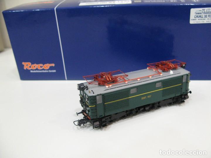 Trenes Escala: Locomotora Roco 63813 Renfe 1007 HO - Foto 4 - 122124879