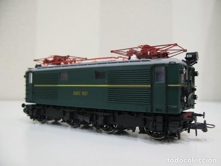 Trenes Escala: Locomotora Roco 63813 Renfe 1007 HO - Foto 6 - 122124879
