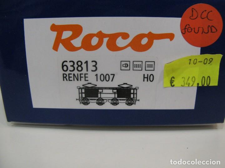 Trenes Escala: Locomotora Roco 63813 Renfe 1007 HO - Foto 11 - 122124879