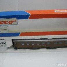 Trenes Escala: ROCO REF: 44879 - COCHE RESTAURANTE DE LA SBB CFF FFS SPEISEWAGEN - ESCALA H0. Lote 123107379