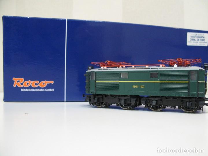 Trenes Escala: Locomotora Roco 63813 Renfe 1007 HO - Foto 2 - 122124879