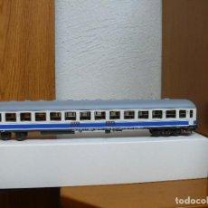 Trenes Escala: ROCO H0 COCHE DE VIAJEROS 2ª CLASE, SERIE B 12X - 12300, DE RENFE, REFERENCIA 44759. Lote 125199387