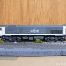 Trenes Escala: ROCO H0 DIGITAL LOCOMOTORA DIESEL-ELECTRICA 319 AVE - RENFE, REFERENCIA 69441. Lote 125199607