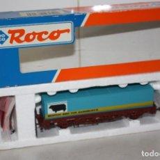 Trenes Escala: ANTIGUO VAGÓN CONTENEDOR ROCO.. Lote 128481963