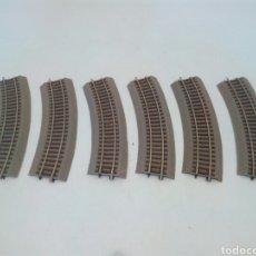 Trenes Escala: VIAS TRAMOS CURVOS,ROCO H0. Lote 129500663