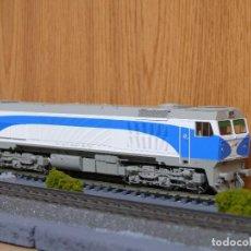 Trenes Escala: ROCO H0 DIGITAL LOCOMOTORA DIESEL-ELECTRICA 319 DE RENFE GRANDES LINEAS , REFERENCIA 69445.. Lote 133862562