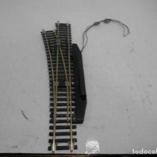 Trenes Escala: DESVIO ELECTRICO IZQUIERDO ESCALA HO DE ROCO . Lote 133907022