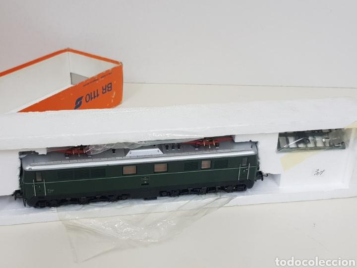 Trenes Escala: Roco escala H0 BR 1110 referencia 4198 a en verde locomotora eléctrica de lado öbb 20 centímetros - Foto 3 - 134184839