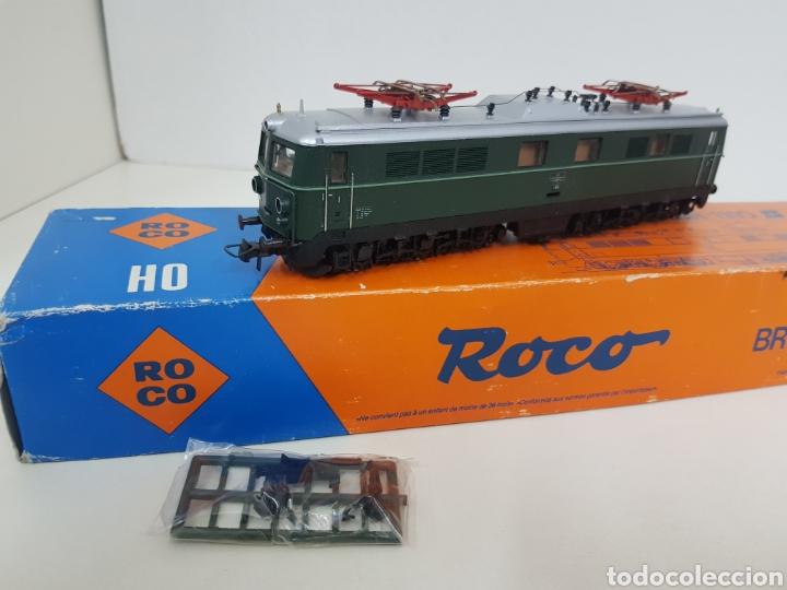 Trenes Escala: Roco escala H0 BR 1110 referencia 4198 a en verde locomotora eléctrica de lado öbb 20 centímetros - Foto 4 - 134184839