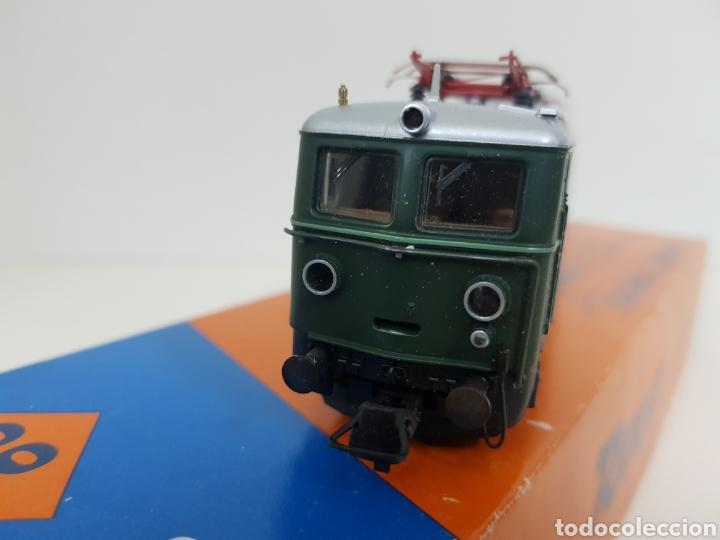 Trenes Escala: Roco escala H0 BR 1110 referencia 4198 a en verde locomotora eléctrica de lado öbb 20 centímetros - Foto 5 - 134184839