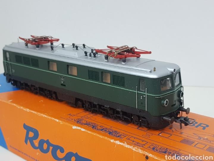 Trenes Escala: Roco escala H0 BR 1110 referencia 4198 a en verde locomotora eléctrica de lado öbb 20 centímetros - Foto 8 - 134184839