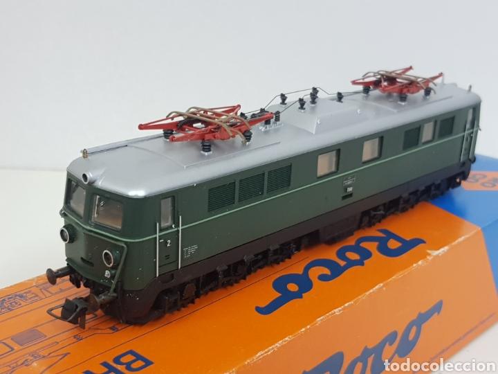 Trenes Escala: Roco escala H0 BR 1110 referencia 4198 a en verde locomotora eléctrica de lado öbb 20 centímetros - Foto 9 - 134184839
