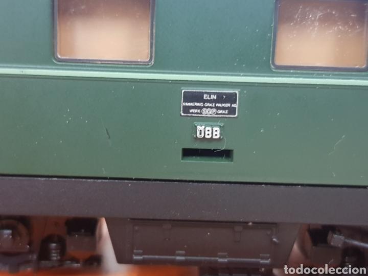 Trenes Escala: Roco escala H0 BR 1110 referencia 4198 a en verde locomotora eléctrica de lado öbb 20 centímetros - Foto 10 - 134184839