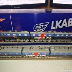 Trenes Escala: TREN ROCO 63755 TRIPLE SUECA DIGITAL CON SONIDO ELECTRICA. Lote 135426383