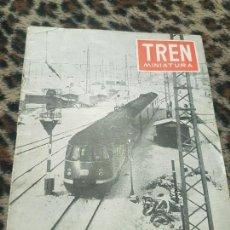 Trenes Escala: REVISTA TREN MINIATURA, AÑO 1957. Lote 136136442