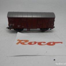 Trenes Escala: VAGÓN CERRADO ESCALA HO DE ROCO . Lote 140925838