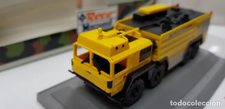 ROCO MINITANKS SPECIAL EDICION LIMITADA MUY RARO REF 685 MAN GTLF 8X8 BUSH PANTHER (Juguetes - Trenes a Escala H0 - Roco H0)