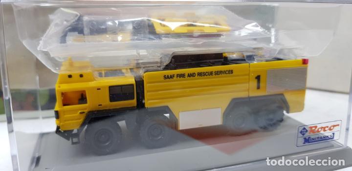 Trenes Escala: ROCO MINITANKS SPECIAL EDICION LIMITADA MUY RARO REF 685 MAN GTLF 8X8 BUSH PANTHER - Foto 4 - 141231330