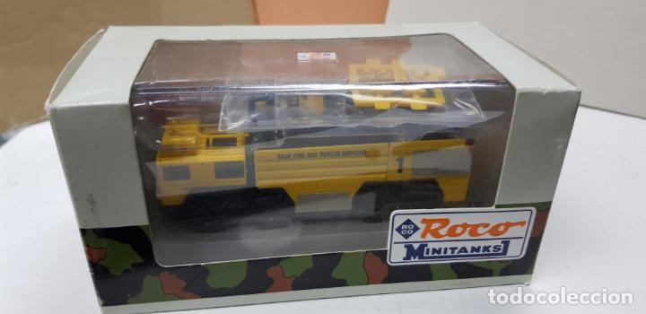 Trenes Escala: ROCO MINITANKS SPECIAL EDICION LIMITADA MUY RARO REF 685 MAN GTLF 8X8 BUSH PANTHER - Foto 8 - 141231330
