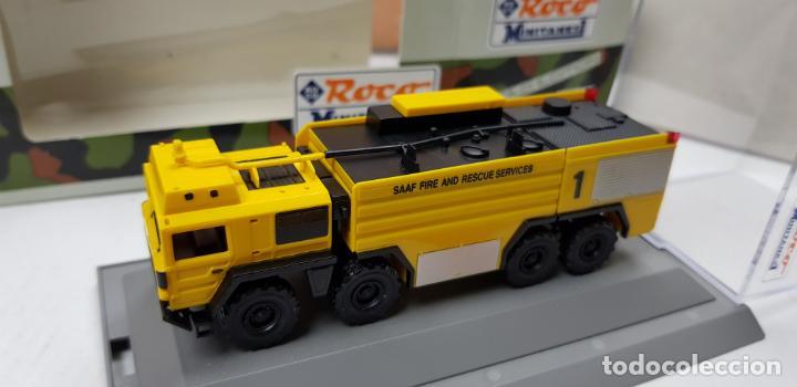 Trenes Escala: ROCO MINITANKS SPECIAL EDICION LIMITADA MUY RARO REF 685 MAN GTLF 8X8 BUSH PANTHER - Foto 13 - 141231330