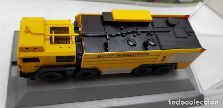 Trenes Escala: ROCO MINITANKS SPECIAL EDICION LIMITADA MUY RARO REF 685 MAN GTLF 8X8 BUSH PANTHER - Foto 15 - 141231330