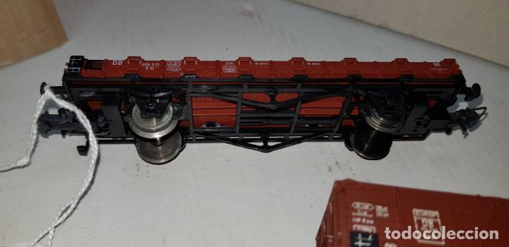 Trenes Escala: Dos vagones roco ho h0 en buen estado - Foto 3 - 141332314