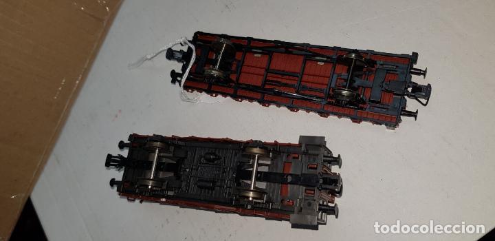Trenes Escala: Dos vagones roco ho h0 en buen estado - Foto 6 - 141332314