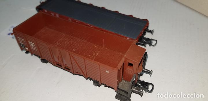 Trenes Escala: Dos vagones roco ho h0 en buen estado - Foto 7 - 141332314