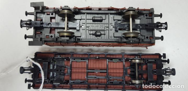 Trenes Escala: Dos vagones roco ho h0 en buen estado - Foto 9 - 141332314