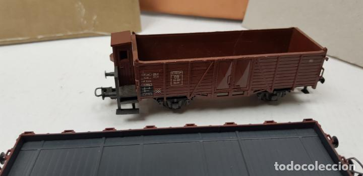 Trenes Escala: Dos vagones roco ho h0 en buen estado - Foto 2 - 141332314