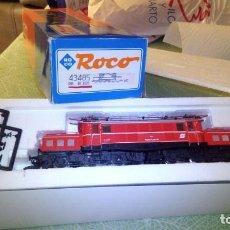 Trenes Escala: LOCOMOTORA H0 ROCO OBB 1020 REFERENCIA 43485 COMO NUEVA. Lote 147632022